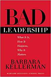 "Image of the cover of the book ""bad leadership"""