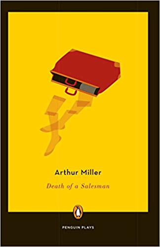 "Image of the cover of the book ""death of a salesman"""