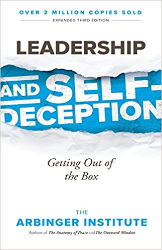 "Image of the cover of the book ""leadership and self deception"""