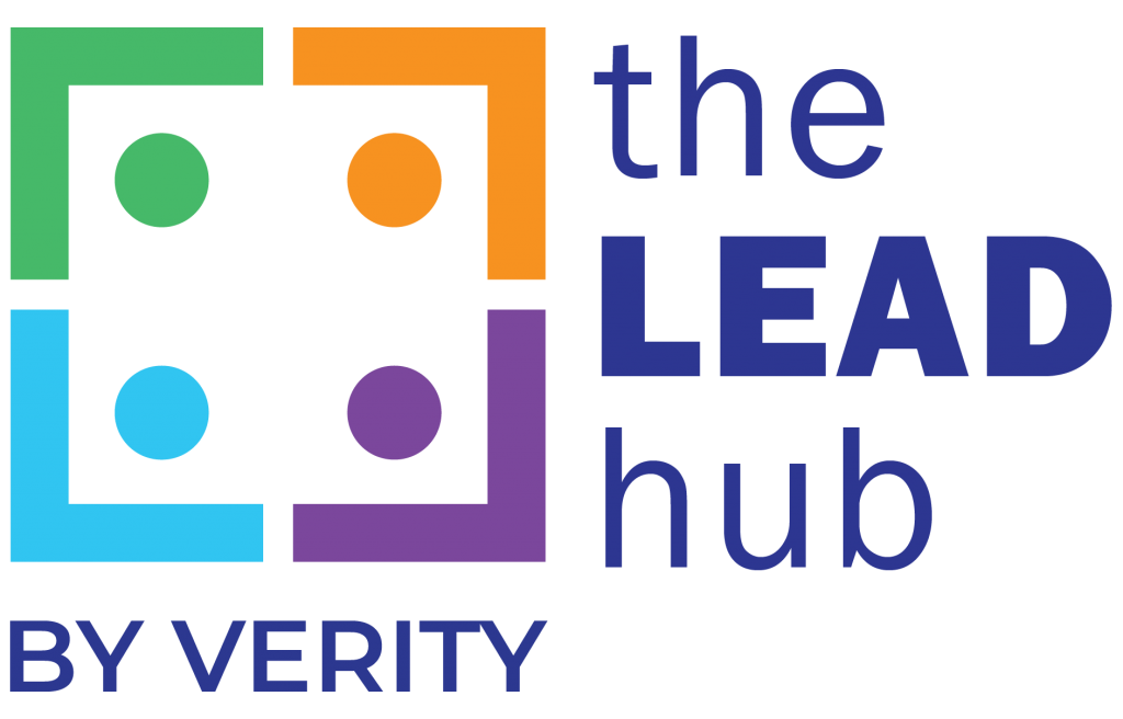 Logo of the Lead Hub by Verity